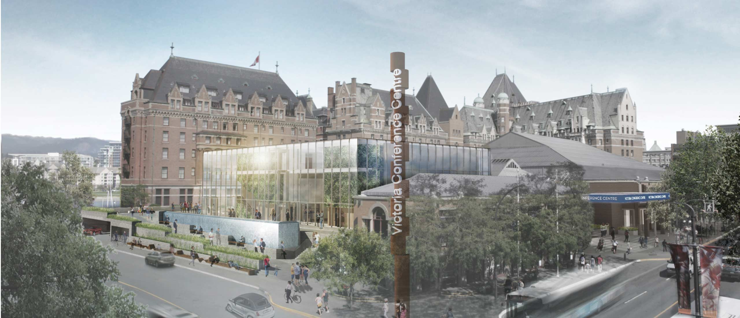 Victoria Conference Centre Renovation & Expansion Design Study © DAU